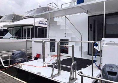 Swim Ladder for Houseboat