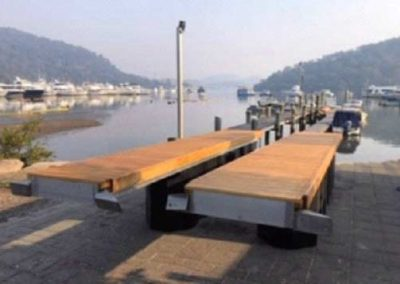 Aluminium Floating Pontoon